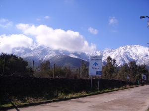 Peñalolén, comuna de Santiago situada en la Precordillera