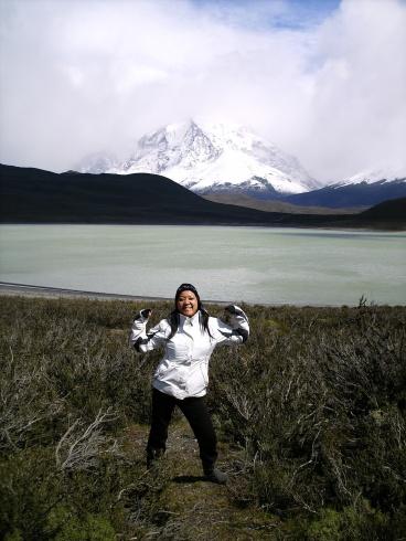 Ly Sia Tho en su viaje al sur de Chile a las Torres del Paine